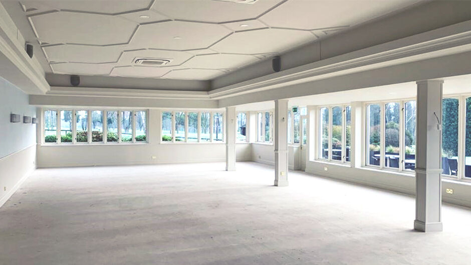Kingswood Golf and Country Club, Surrey, undergoing refurbishment.