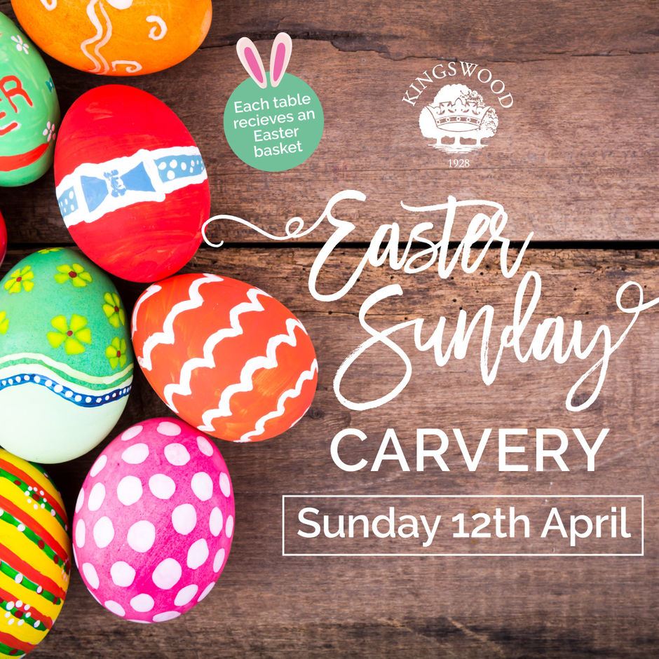 Easter Sunday Carvery at Kingswood Golf, Tadworth