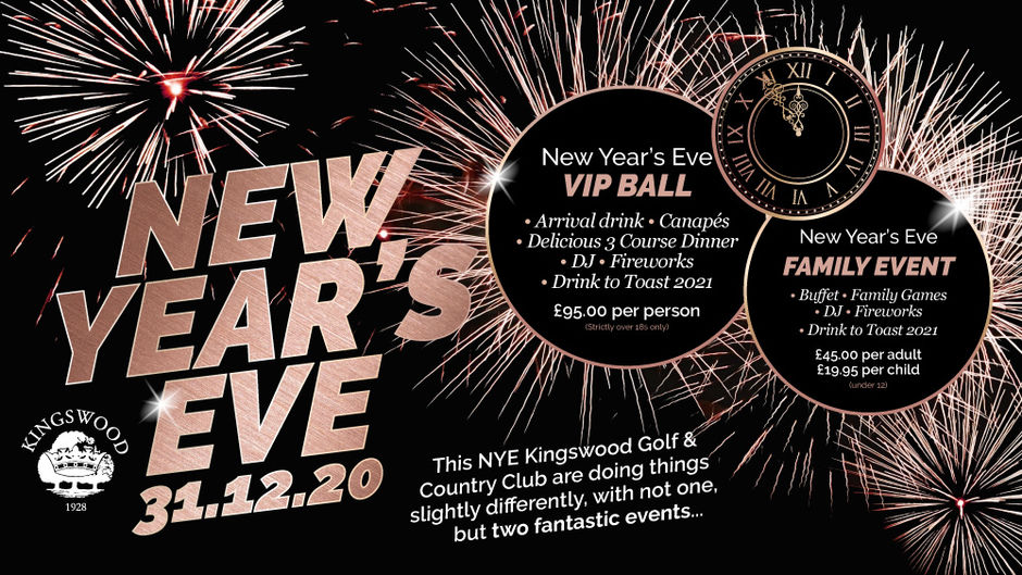New Year's Eve at Kingswood Golf and Country Club